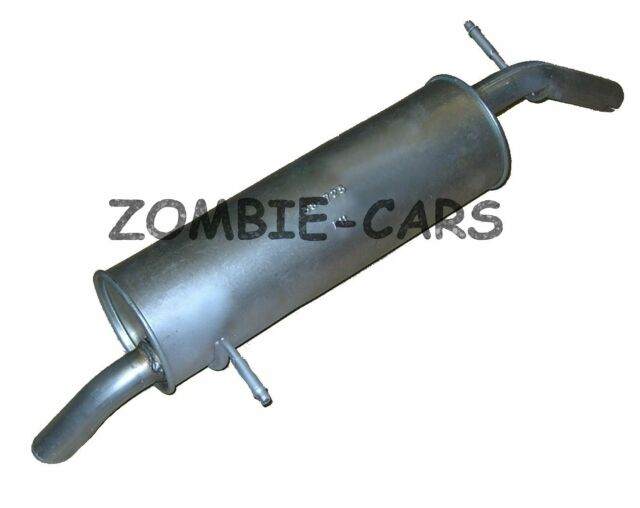 Peugeot 206 1.1 1.4 1.6 98-03 Hatchback Exhaust Rear Back Box-PG543A Fittings