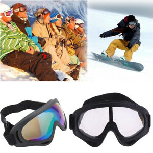9fcaaa070824 Image is loading New-Snow-Googles-Windproof-Motorcycle-Riding-Snowmobile- Goggles-