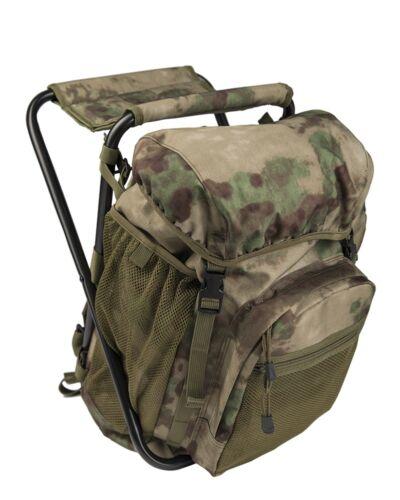 Mil-Tec Ansitzrucksack mit Hocker Rucksack Sitzrucksack Backpack 20l Mil-Tacs FG