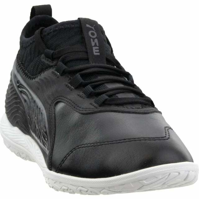 Puma One 19.3 Indoor Training  Casual Soccer  Cleats - Black - Mens