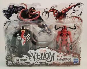 Marvel-Venom-Action-Figure-2-Pack-VENOM-amp-CARNAGE-Hasbro-Eddie-Brock