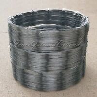 Razor / Helical Barbed Wire Galvanized Steel 18 3 Coil 150 Feet Coverage