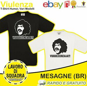 T-Shirt - DIEGO ABATANTUONO VIULENZA eccezzziunale veramente Milan calcio Regalo