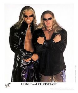 WWE-EDGE-AND-CHRISTIAN-P-560-OFFICIAL-LICENSED-8X10-ORIGINAL-PROMO-PHOTO