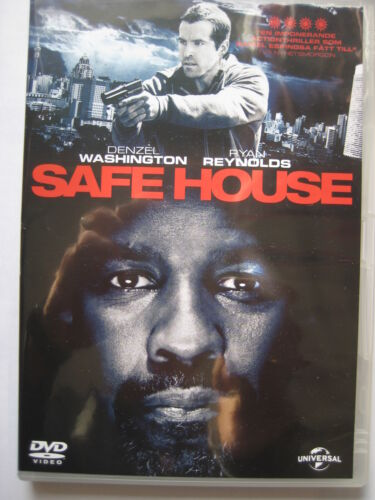 1 of 1 - Safe House  [DVD, 2012] Nordic Packaging NEW SEALED Region 2