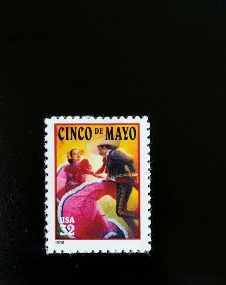 1997 32c Cinco de Mayo, May 5, Mexico Scott 3203 Mint F