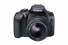 New Canon EOS Rebel T6 18MP Digital SLR Camera with EF-S 18-55mm Lens, Black