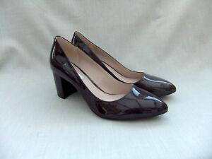 Nuevo Cloud zapatos 41 7 de Clarks talla Blissful charol mujer para violeta RqwH4Ra
