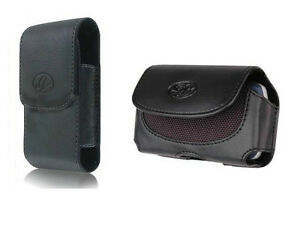 Vertical-Horizontal-Cell-Phone-Holder-Leather-Cover-Case-Pouch-Side-Clip