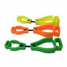 AT01-3YGO 3Pcs Mix Glove Clip Holder Hanger Guard Grabber Catcher Safety Work