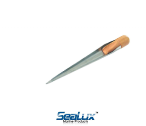S.S Splicing Spike Fid with wood Handle-for rope ISURE marine