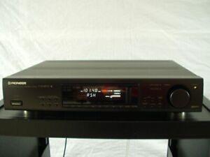 Pioneer-F-502RDS-Stereo-Tuner-mit-2-Antenneneingaengen-Zub-12-Mon-Garantie