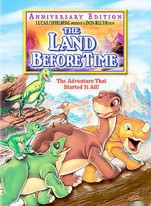 DVD KID Movie - THE LAND BEFORE TIME Anniversary Edition