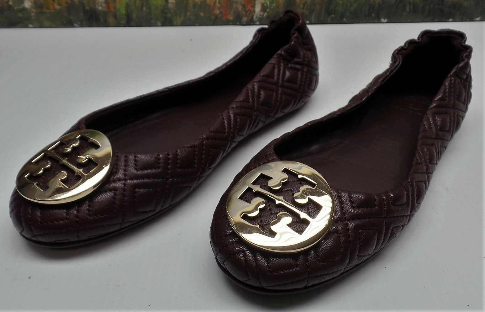 Tory Burch Quilted Minnie Flat - Size 6.5 -  238