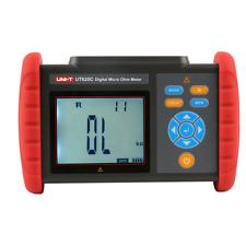 Uni T Ut620c Digital Micro Ohm Meter Dc Low Resistance Meter Cable Wirecoilmot