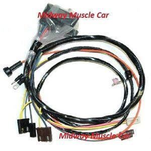 engine wiring harness w/ HEI w/ gauges 68 Chevy Camaro SS 427 350 396 | eBayeBay