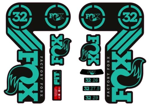 FOX 32 Heritage 2015 Fork Suspension Factory Decal Sticker Adhesive Dolphin