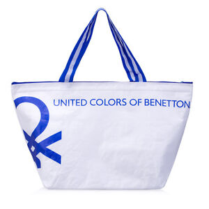 United Colors Of Benetton Water Repellent ECO Tote Cooler Thermal ... c52d6fb239