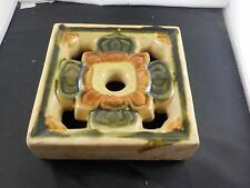 large claycraft faience ?  tile california arts/crafts ex cond pottery