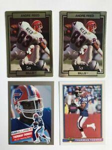 Buffalo-Bills-Football-Card-Lot-Andre-Reed-and-Thurman-Thomas-Hall-of-Famers