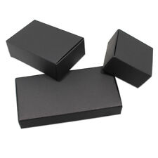 White Black Kraft Paper Packaging Boxes Small Gift Craft Reusable Wedding Favor