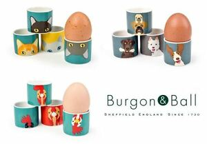 Burgon-and-Ball-Creaturewares-Egg-Cups-Set-of-4-Cat-Dog-or-Hen