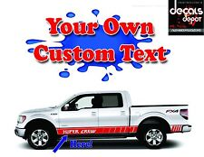 Fits FORD F-150 Lariat XL XLT SXT Platinum King Ranch  CUSTOM VINYL DECAL STRIPE