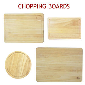 Chopping-Board-Wooden-Cutting-Meat-Herb-Slicing-Pastry-Round-Bread-Serving-Dice