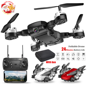 Foldable-WIFI-FPV-RC-Quadcopter-Drone-1080P-HD-Camera-Selfie-Drone-Christmas