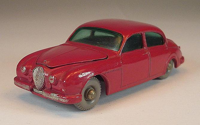 Matchbox Regular Wheels No 65 B Jaguar 3.4 LITRE Saloon rot GPW Lesney 2  458