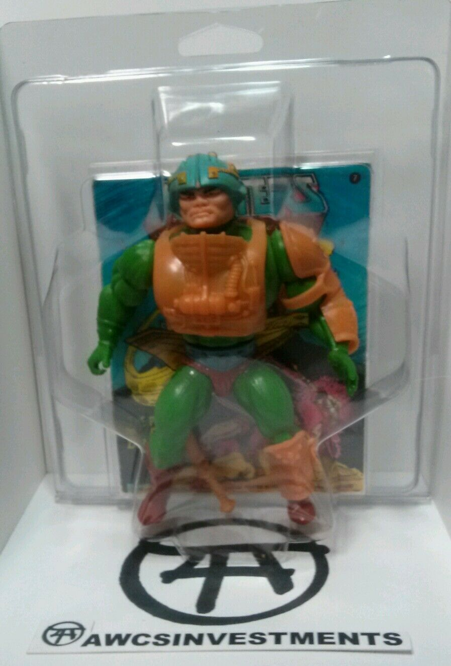 HE MAN    MOTU MAN AT ARMS  ZOLOWORLD case,comic,w  accessoriessee pictures 8eea0b