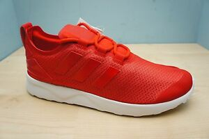 timeless design de9bb f3f0a Details about Adidas ZX FLUX ADV VERVE Womens Size 4.5 UK Red White Running  Gym Trainers BNWB