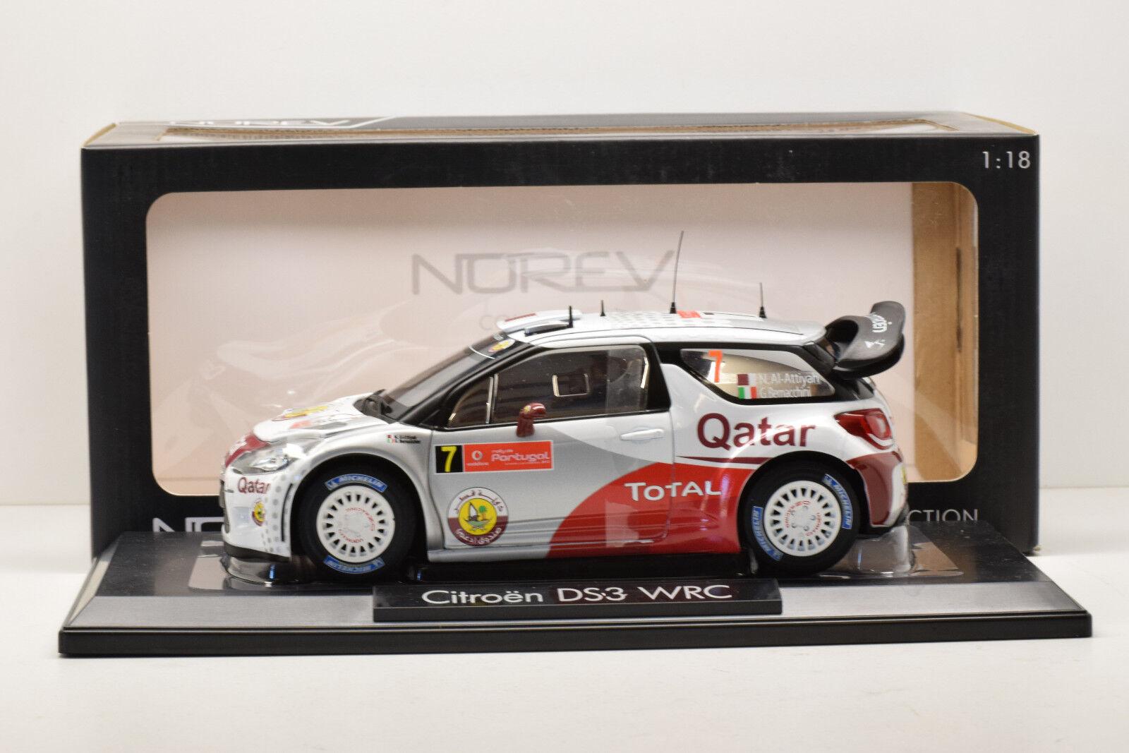 CITROEN DS3 WRC PORTUGAL 2012  7 NOREV 1 18 NEUVE EN BOITE