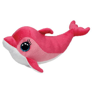 9ce173b185e Surf Dolphin Beanie Boo Medium Aquatic Stuffed Animal by Ty 36996 ...