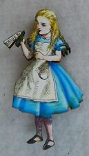 Alice in Wonderland Drink Me Brooch or Scarf Pin Accessories Fashion Wood new
