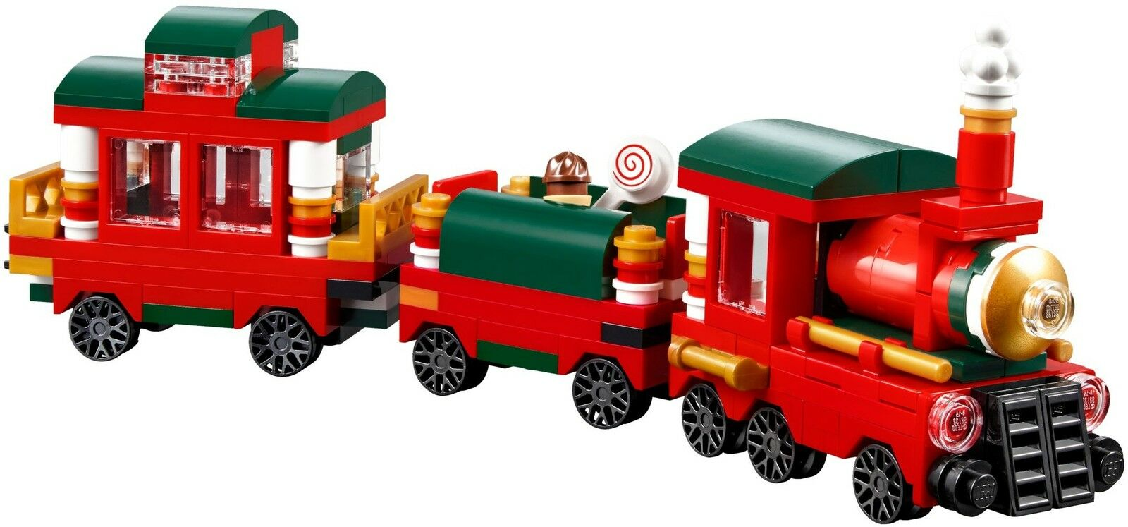 LEGO® Creator 40138 Weihnachtszug Weihnachtszug Weihnachtszug Limited Edition 2015 NEU OVP NEW MISB 40139 a363ad