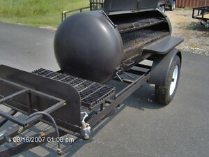 Bbq Hog Pit Smoker Competition 10ft Trailer Concession