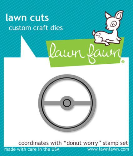 Lawn Fawn Lawn Cuts Donut Worry Die