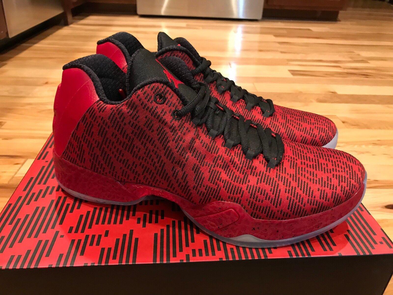 Nike Air Jordan 29 XX9 Low Jimmy Butler PE Gym Red/Black 855514-605 Size 11