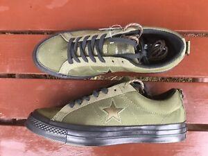 28dc3d56a3ec Converse Carhartt All Star Chuck Taylor WIP 162820C army green shoes ...
