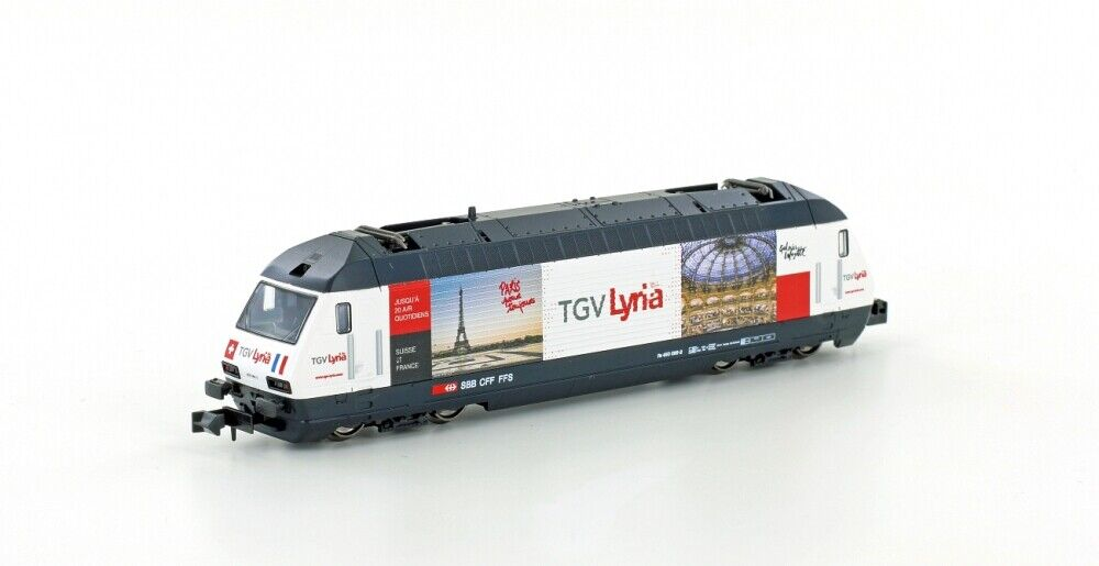 Kato 137120 N Gauge Electric Locomotive SBB Re4 4 460 Tgv Lyria , Epoch Iv-V