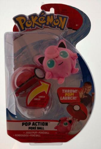 Pop action Pokémon Poké Ball-Jigglypuff Poke et Ball-NOUVEAU Boîtier Endommagé