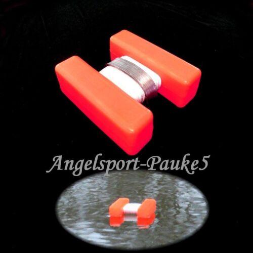 H-bouée tubes-rouge H-bouées marqueurs Nourriture place marqueur mini