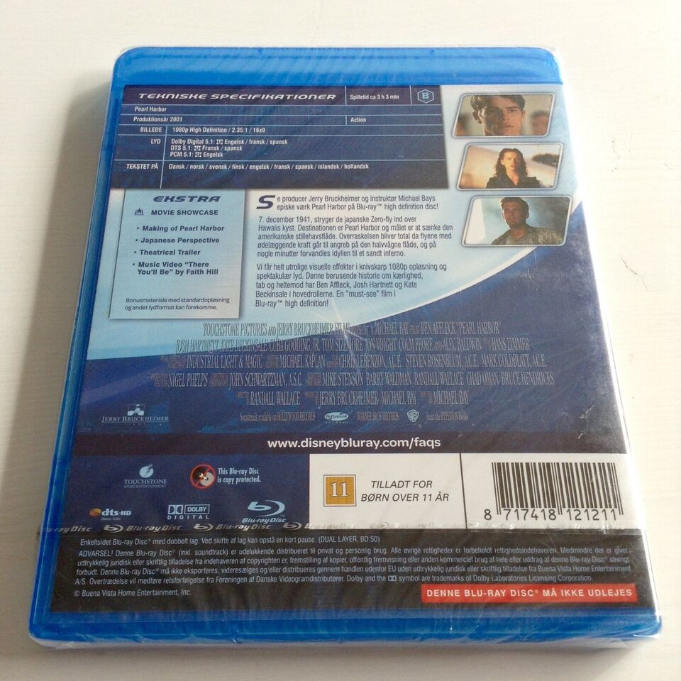 Pearl Harbor, Blu-ray, action