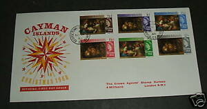 Cayman Islands 1968 Christmas FDC Cover