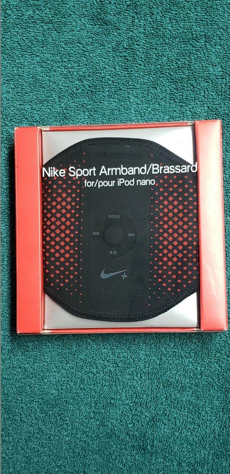 Nike Sport Armband Brassard for iPod Nano Black Adult Unisex