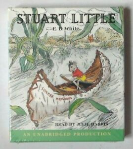 STUART-LITTLE-BY-E-B-WHITE-READ-BY-JULIE-HARRIS-2-CDS-AUDIO-BOOK-NEW-SEALED