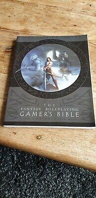Bene La Bibbia I Giocatori Di Ruolo Fantasy 2nd Edizione Rpg-mostra Il Titolo Originale