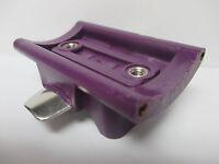 Newell Reel Part - Pr 338 F Purple - Rod Stand Reel Seat Threaded
