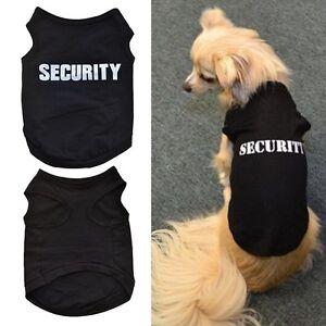 Vetement-Pour-Chien-Chat-Manteau-Costume-Capuche-Veste-T-shirt-Pull-Securite-NF